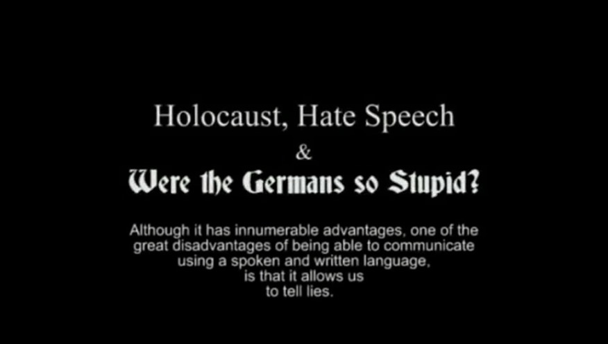 Anthony Lawson - Holocaust Hate speech and were the Germans so stupid.jpg