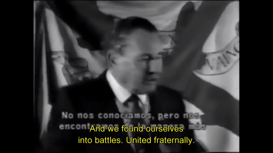 Léon Degrelle - Léon Degrelle General of the European Waffen-SS speaks.jpg, juin 2020